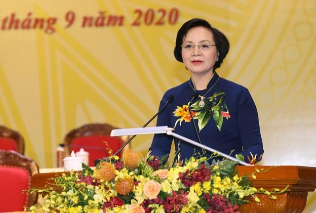 Bà Phạm Thị Thanh Trà giữ chức Phó trưởng Ban tổ chức Trung ương.