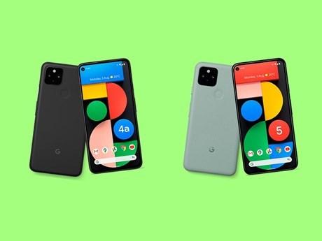 Mẫu điện thoại Pixel 4a và Pixel 5 trang bị 5G của Google. (Nguồn: The Verge).