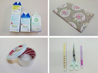 Vỏ hộp sữa có thể làm hộp quà, hộp bút...