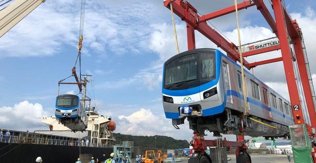 Trong tháng 10, các toa tàu đầu tiên của tuyến Metro số 1 sẽ về tới TP HCM - Ảnh 1