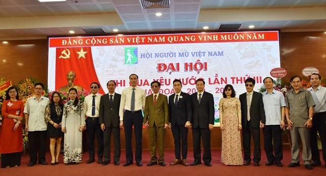 BẢN TIN MẶT TRẬN: Phó Chủ tịch Phùng Khánh Tài dự Đại hội Thi đua yêu nước Hội người mù Việt Nam - Ảnh 1