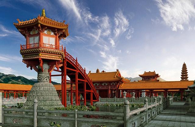 Sản phẩm thực tế ảo chùa Diên Hựu - chùa Một Cột.
