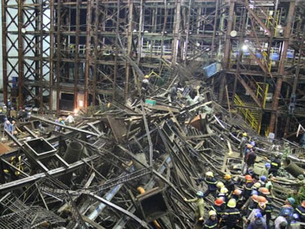 Vấn đề an toàn lao động trong xây dựng chưa được quan tâm đúng mức.
