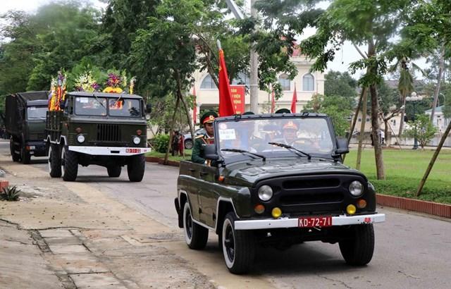 Lễ tang sẽ được tổ chức tập trung tại Nhà thi đấu đa năng tỉnh Quảng Trị theo nghi thức Quân đội. (Ảnh: Đỗ Trưởng/TTXVN).