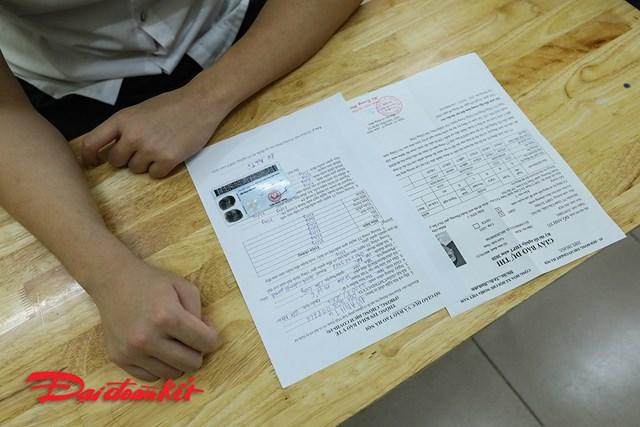 Những giấy tờ bắt buộc mỗi thí sinh phải có.