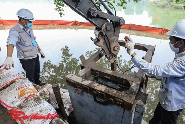 Loại kè dùng để kè hồ Hoàn Kiếm là sản phẩm được nghiên cứu, sản xuất và đã ứng dụng ở rất nhiều công trình từ Bắc vào Nam.