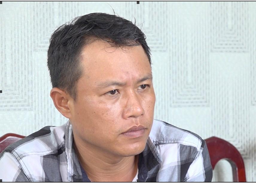 Đối tượng cầm đầu Huỳnh Trần Hùng.